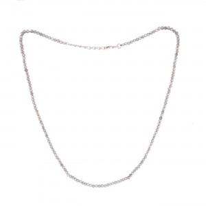 Filao Collier Argent Massif Perles Labradorite