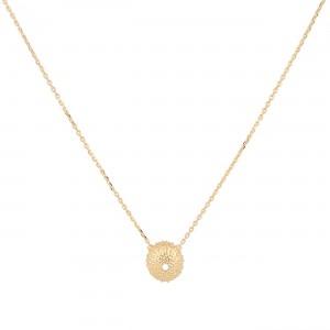 filao chaine dorée à l'or fin 24 carats aux douces tonalités des Iles.