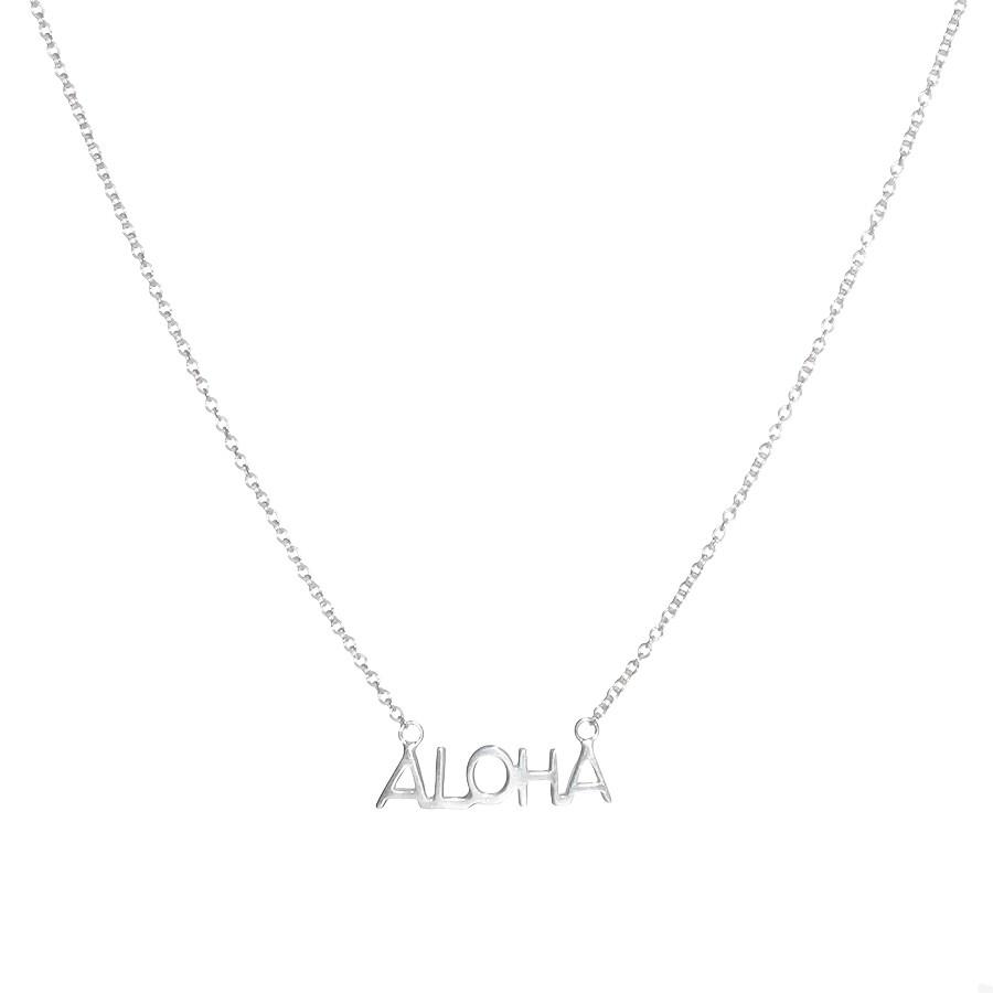Chaine Aloha Argent Massif 925 Filao