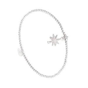 Bracelet Palmier Argent Massif 925 Filao