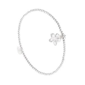 Bracelet Flower Argent Massif 925 Filao