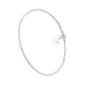 Bracelet Star Argent Massif 925 Filao