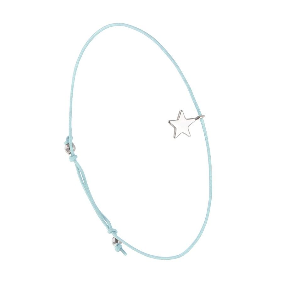 Bracelet Petite Étoile Lagon Arg 925 Filao