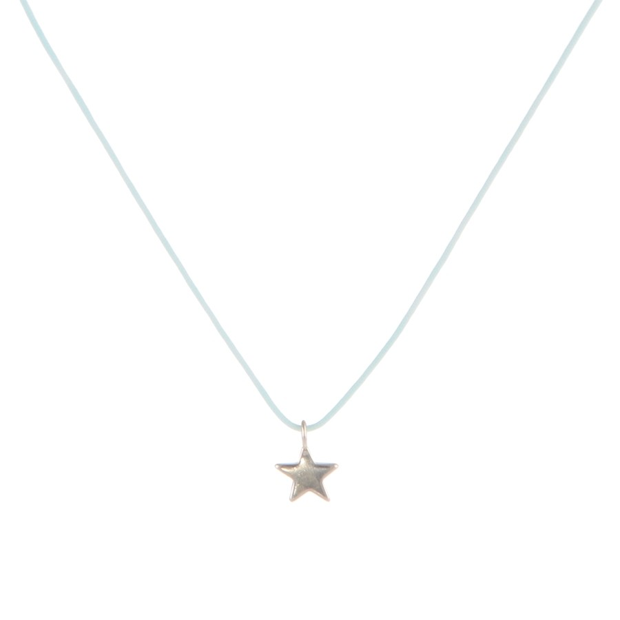 Collier Petite Étoile Lagon Arg 925 Filao