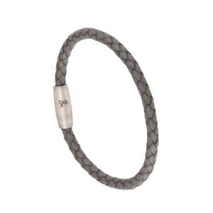 Bracelet Homme Cuir Gris Filao
