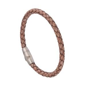 Bracelet Homme Cuir Beige Filao