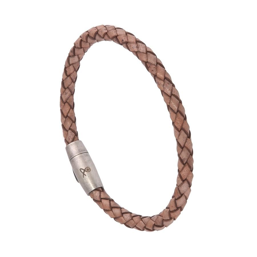 0b0928120f045 Bracelet Homme Cuir Beige Filao